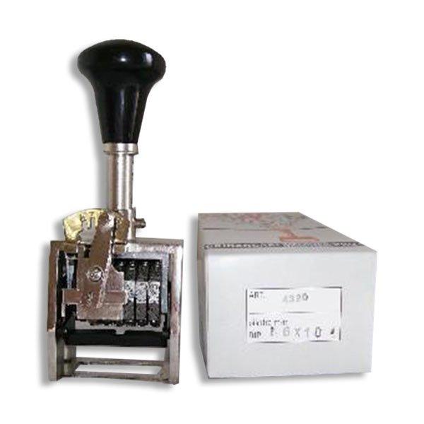 timbro numeratore automatico 2 cifre progressivo