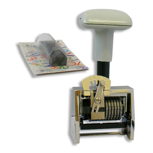 timbro numeratore automatico 8 cifre progressivo