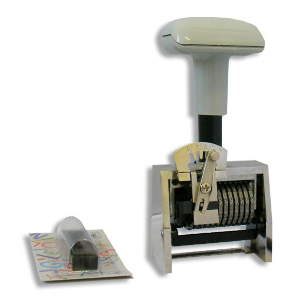timbro numeratore automatico 12 cifre progressivo