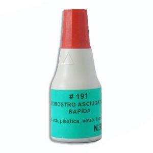 inchiostro timbri rapida ascugatura rosso