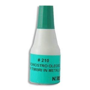 inchiostro timbri metallo verde