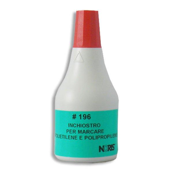inchiostro timbri rapida essicazione rosso